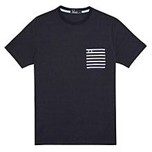 Buy Fred Perry Polka Dot Stripe Pocket T-Shirt Online at johnlewis.com