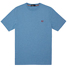 Buy Fred Perry Solid Crew Neck Cotton T-Shirt Online at johnlewis.com