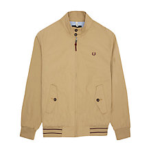 Buy Fred Perry Paper Touch Harrington Jacket Online at johnlewis.com