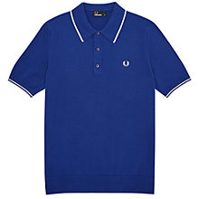 Buy Fred Perry Tipped Knitted Polo Shirt Online at johnlewis.com