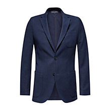 Buy Tommy Hilfiger Knitted Alaster Blazer, Midnight Online at johnlewis.com