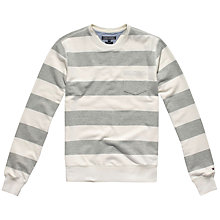 Buy Tommy Hilfiger Bennett Crew Neck Jersey, Snow White Online at johnlewis.com