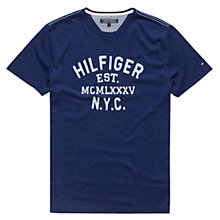 Buy Tommy Hilfiger Hays Print Cotton T-Shirt Online at johnlewis.com