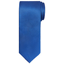 Buy Chester by Chester Barrie Textured Plain Silk Tie Online at johnlewis.com