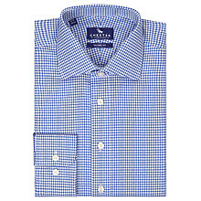 Buy Chester by Chester Barrie Carlton Gingham Shirt, Blue Online at johnlewis.com
