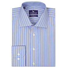 Buy Chester by Chester Barrie Carlton Stripe Shirt, Blue Online at johnlewis.com