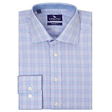 Buy Chester by Chester Barrie Carlton Graphic Check Shirt, Blue Online at johnlewis.com