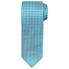 Buy Chester by Chester Barrie Circle Pattern Silk Tie Online at johnlewis.com