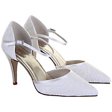 Buy Rainbow Club Tierney Pointed Court Shoes, Ivory Online at johnlewis.com