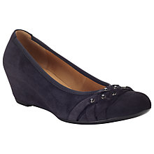 Buy Gabor Riona Suede Wedges Online at johnlewis.com