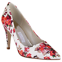 Buy Rainbow Couture Valentina Floral Print Court Shoes, Multi Online at johnlewis.com