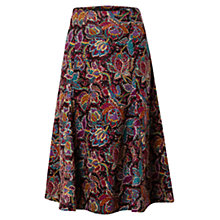 Buy East Leila Print Skirt, Espresso Online at johnlewis.com