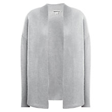 Buy Whistles Alice Cashmere Mix Cardigan, Grey Online at johnlewis.com