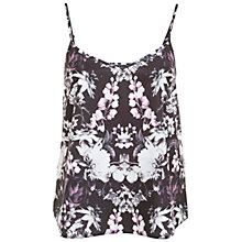 Buy Miss Selfridge Mirror Print Cami, Multi Online at johnlewis.com