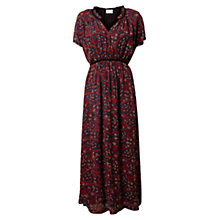 Buy East Tamia Print Dress, Espresso Online at johnlewis.com