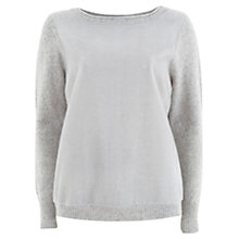 Buy Mint Velvet Faux Fur Front Jumper Online at johnlewis.com