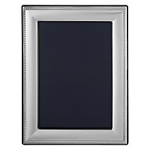 Buy John Lewis Sterling Silver Bead Photo Frame Online at johnlewis.com