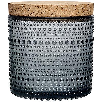 Iittala Kastehelmi Glass Jar