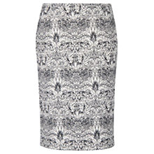 Buy Mango Neoprene-Effect Skirt, Natural White Online at johnlewis.com