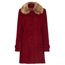 Buy Sugarhill Boutique Lucy Coat, Burgundy Online at johnlewis.com