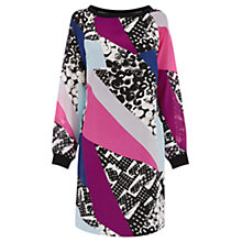 Buy Wishbone Avril Graphic Silk Dress, Multi Online at johnlewis.com