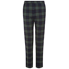 Buy NW3 by Hobbs Clara Checked Trousers, Navy Online at johnlewis.com