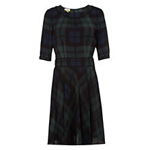 Buy NW3 by Hobbs Hetty Dress, Green/Black Online at johnlewis.com