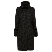 Buy Coast Avenue Coat, Black Online at johnlewis.com