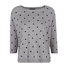 Buy Mango Polka Dot Wool Blend Jumper Online at johnlewis.com