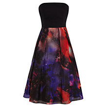 Buy Coast Arwa Print Bandeau Dress, Multi Online at johnlewis.com