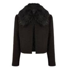 Buy Coast Abla Jacket, Black Online at johnlewis.com