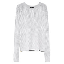 Buy Mango Flake Textured Jumper Online at johnlewis.com