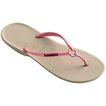 Buy Havaiana Ring Detail Rubber Flip Flips Online at johnlewis.com