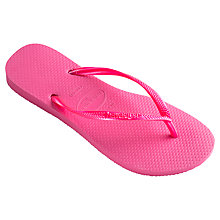 Buy Havaianas Slim Rubber Flip Flops Online at johnlewis.com