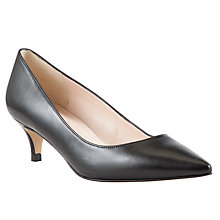 Buy John Lewis Delilah Leather Pointed Court Shoes Online at johnlewis.com