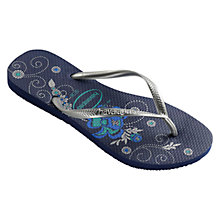 Buy Havaianas Organic Slim Rubber Flip Flops Online at johnlewis.com