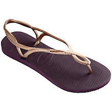Buy Havaianas Luna Twist Strap Rubber Flip Flops Online at johnlewis.com