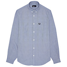 Buy Fred Perry End On End Shirt, Blue Online at johnlewis.com