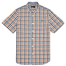 Buy Fred Perry Short Sleeve Gingham Shirt Online at johnlewis.com