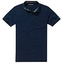 Buy Tommy Hilfiger Adel Polo Shirt, Dark Indigo Online at johnlewis.com