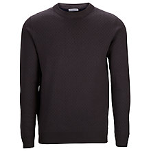 Buy Selected Homme Conner Crew Neck Jumper, Navy Blazer Online at johnlewis.com