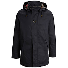 Buy Selected Homme Talon Hooded Trench Coat, Rubber Online at johnlewis.com