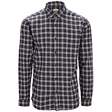 Buy Selected Homme Greff Slim Fit Plaid Shirt, Navy Blazer Online at johnlewis.com