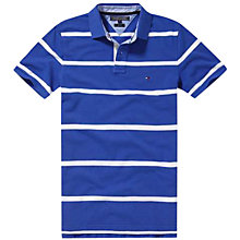 Buy Tommy Hilfiger Bar Stripe Slim Fit Polo Shirt Online at johnlewis.com