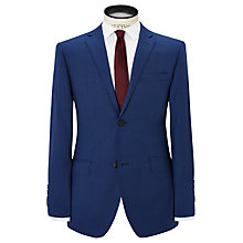 Buy Richard James Mayfair Slim Fit Pick and Pick Wool Suit Jacket, Royal Blue Online at johnlewis.com