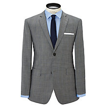 Buy Richard James Mayfair Check Notch Suit Jacket, Light Grey Online at johnlewis.com