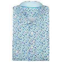 Buy Richard James Mayfair Austin Ditsy Shirt, Blue/Aqua Online at johnlewis.com