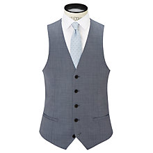 Buy Richard James Mayfair Slim Fit Pick and Pick Wool Waistcoat, Grey Online at johnlewis.com