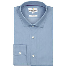 Buy Richard James Mayfair Austin Chambray Shirt, Denim Online at johnlewis.com