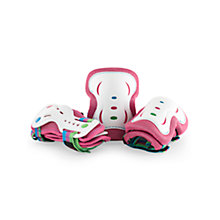 Buy SFR Triple Skating Pad Set, Pink/White Online at johnlewis.com